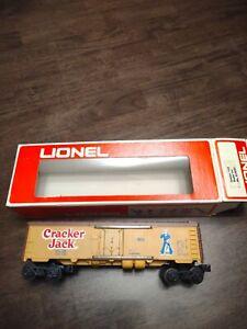 no *reserve* -Lionel 0 Gauge 9853 Cracker Jack Reefer 1/73
