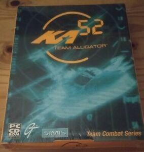KA-52 TEAM ALLIGATOR CHOPPER SIM - WIN 95/98 PC CD BIG BOX - 1999 NEW SEALED NOS