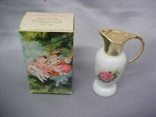 AVON perfume..........1974  PARISIAN  GARDEN  SONNET in Pitcher with Roses w box