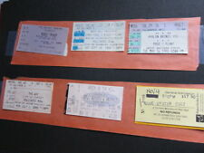 Jimmy Page Robert Plant La Concert ticket 1995