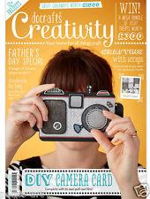 Docrafts creatividad revista May 2016 nº 70 + sello gratis juego & Gorjuss