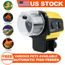 Adjustable Automatic Aquarium Timer Auto Fish Tank Pond Food Feeder Feeding US