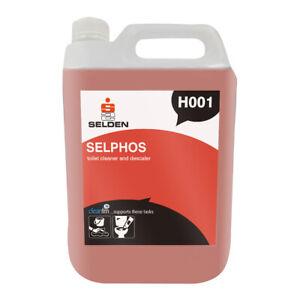 Selden Selphos  -Toilet Cleaner and Descaler 5ltr