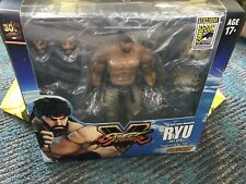 """2017 SDCC Exclusive Bluefin Storm SFV """"Hot Ryu"""" + Poster SIGNED BY Designer KIKI"""