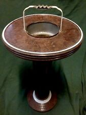Great Old Deco Hotel Lounge Ashtray Table Smoking Stand