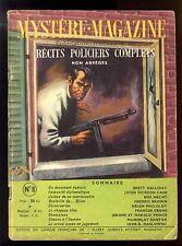 MYSTERE-MAGAZINE n°8   J.D. CARR / Fredric BROWN / Ben HECHT    août 1948  OPTA