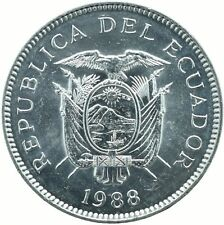 COIN / ECUADOR / 5 SUCRES 1988   UNC    #WT18175