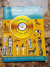 Egyptian Designs Dover Electronic Clip Art CD-ROM & Book Dover Publications