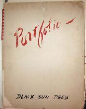 PORTFOLIO BLACK SUN PRESS Henry Miller Romaire Bearden Kay Boyle Henry Moore &c.