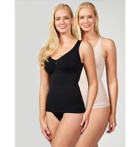NEW VERCELLA VITA Medium Control Plain Camisole Choice of Size & Colour