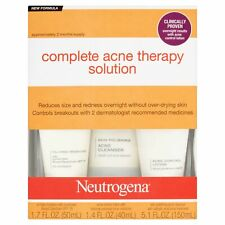 Neutrogena Advanced Solutions Complete Acne Day/Night Therapy System (3PK)