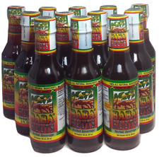 Baba Roots Herbal Energy Drink 100% all Natural - 5 fl oz  ( 12 PACK )
