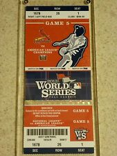 2013 World Series Original Ticket - Red Sox vs. Cardinals Game 5