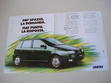 advertising Pubblicità 1994 FIAT PUNTO 75