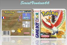"""Boitier du jeu """"POKEMON OR"""", Custom, Game Boy Color. FR. HD. SANS LE JEU."""