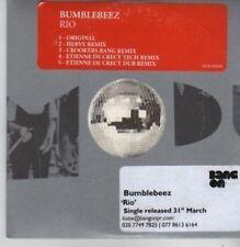 (BP850) Bumblebeez, Rio - DJ CD
