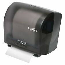 Marathon Roll Towel Dispenser Automated Touch less, Smoke 350 Ft. Capacity New