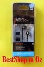 Sennheiser CX 300-II Precision Earphones Black New