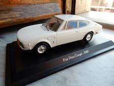 FIAT DINO Coupè 1969 1:43 BIANCO MODEL CAR DIE CAST MODELLINO
