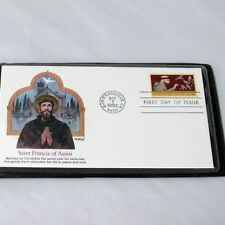 First Day Cover St Francis of Assisi Stamp Envelope 1982 San Francisco Postmark