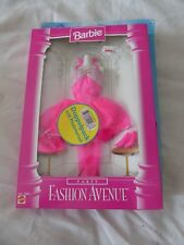 BARBIE DOLL FASHION AVENUE PARTY SET (TWO OUTFITS) 1996 MATTEL 15862/67508 - NEW