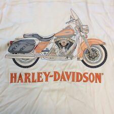 Harley Davidson Tori Richard SS 100% Silk Embroidered Button Shirt Mens Medium M