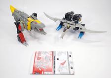 Transformers Energon Grimlock & Swoop - Dinobot Combiner Box Set - Complete - EX