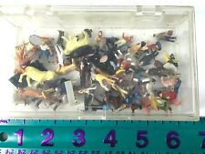 Ho Scale miscellaneous People and Animal Figurines, 67 total in lot