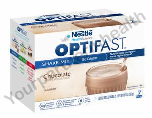 NEW FORMULA OPTIFAST 800 POWDER SHAKE   CHOCOLATE   12 CARTONS   84 SERVINGS