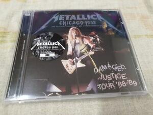 """METALLICA - """"CHICAO 88"""" 2CD SET"""