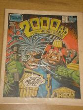 2000AD #199 BRITISH WEEKLY COMIC JUDGE DREDD FEB 1981 *