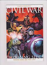 Marvel Comics! Civil War: Choosing Sides! Issue 1!