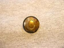 Non Dug Confederate Cavalry Coat Button