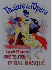METAL WALL PLAQUE / SIGN  VINTAGE STYLE THEATER DE L'OPERA #2
