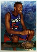 1997 97-98 Metal Universe Tracy McGrady #42, RC Rookie Foil Raptors HOF