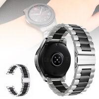 Band Bracelet de montre acier INOX 46mm Pour Samsung Galaxy Watch Avec raw ear