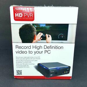 Hauppauge HD PVR Model 1212 Record HD Game Play Burning Blu Ray Recorder HD PVR