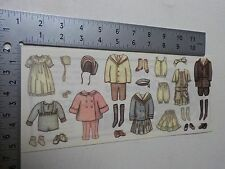 TUMBLEBEASTS COUNTRY CLOTHING VINTAGE LOOK STICKERS SCRAPBOOKING NEW A2868