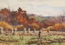 Hunters  dogs Hunting Pheasants by Aiden Lassell Ripley