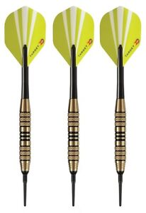 Target Game Play Sport Grip Soft Tip Darts - 18 Grams - Slim Tri Pack Case - C