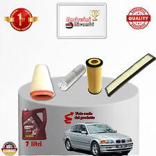KIT TAGLIANDO FILTRI + OLIO BMW SERIE 3 330d E46 150KW 204CV DAL 2003 -> 2007