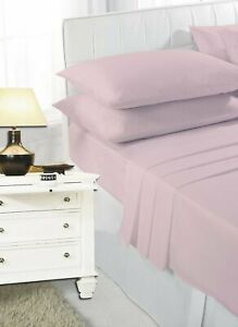 Pink Bunk Bed Fitted Sheet for Small Single Caravan Bed | 68 Pick Polycotton
