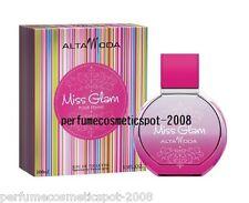 NIB MISS GLAM POUR FEMME ALTA MODA FOR WOMEN 3.3 OZ 100 ML EAU DE TOILETTE SPRAY