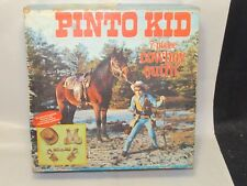 Vintage Western Pinto Kid Cowboy Outfit Costume,Hubley, BOX ONLY AS-IS