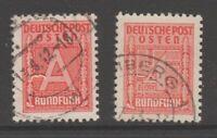 Poland Nazi Occ Radio License revenue Fiscal stamp 10-22c-9