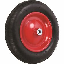 Ambassador PNEUMATIC WHEELBARROW WHEEL 3x8 Flanged Bearing Steel, 5/8 Inch Axle