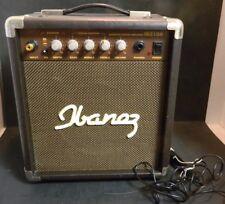 Vintage Ibanez IBZ10A Amplifier Speaker 120V, 50-60Hz, 12W w/ Micro. Excellent