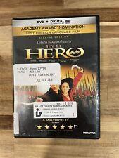 Hero Dvd Jet Li Quentin Tarantino