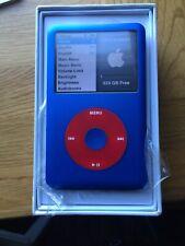 Apple iPod classic 7th Generation Custom Blue /Red (1TB)  True MSATA