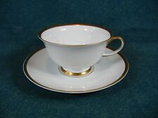 Rosenthal Classic Rose Collection Gold Trim Cup and Saucer Set(s)